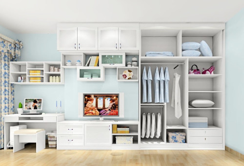 用料要环保 支招整体衣柜带书桌选购技巧